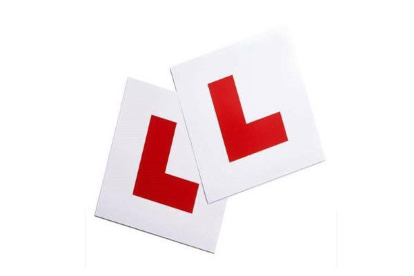 Picture for category N & L Plate Stickers